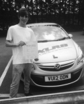 Corey Barnardo passed with XLR8 Wales Driving School