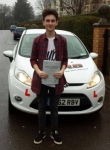 Cory Davies passed with XLR8 Wales Driving School