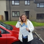 Courtney White passed with XLR8 Wales Driving School