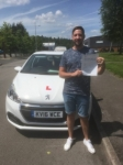 Craig Sampson passed with XLR8 Wales Driving School