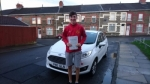 Cullen Daley passed with XLR8 Wales Driving School