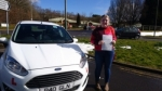Danielle Bray passed with XLR8 Wales Driving School
