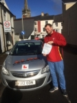 Daniel Clifford passed with XLR8 Wales Driving School