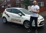 Daniel Hier passed with XLR8 Wales Driving School