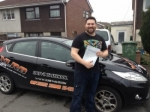 David Glynn White passed with XLR8 Wales Driving School