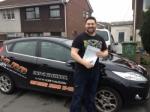 David Glynn White passed with XLR8 Wales Driving School