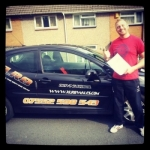 David Rigden passed with XLR8 Wales Driving School