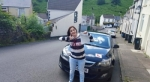 Della May passed with XLR8 Wales Driving School