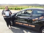 Donna Jones passed with XLR8 Wales Driving School
