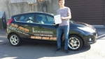 Edward Wardle passed with XLR8 Wales Driving School