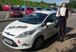 Elinor Bushell passed with XLR8 Wales Driving School