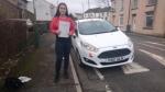 Ellie Jones passed with XLR8 Wales Driving School