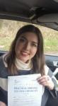 Ellie Watkins passed with XLR8 Wales Driving School