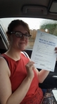 Emily Sayer passed with XLR8 Wales Driving School