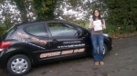 Emma Holland passed with XLR8 Wales Driving School