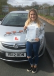 Emma Wakely passed with XLR8 Wales Driving School