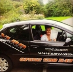 Eve passed with XLR8 Wales Driving School