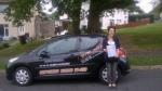 Gabby Shellard passed with XLR8 Wales Driving School