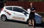 Garin Jones passed with XLR8 Wales Driving School