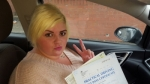 Gemma Jones passed with XLR8 Wales Driving School
