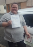 Gemma Powell passed with XLR8 Wales Driving School