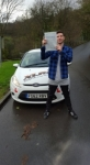 George James passed with XLR8 Wales Driving School