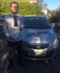 George Lewis passed with XLR8 Wales Driving School
