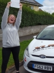 Georgia Jenkins passed with XLR8 Wales Driving School