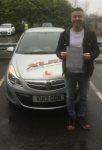 Halil passed with XLR8 Wales Driving School