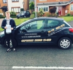 Harry Wren passed with XLR8 Wales Driving School