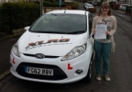 Hayley Perryn passed with XLR8 Wales Driving School