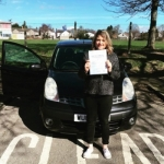 Hollie Matthews passed with XLR8 Wales Driving School