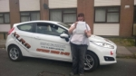 Honey Williams passed with XLR8 Wales Driving School