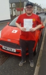Ieuan Willey passed with XLR8 Wales Driving School