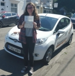 Isobel Thomas passed with XLR8 Wales Driving School