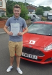 Iwan Barber passed with XLR8 Wales Driving School