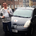 Jack Pennells passed with XLR8 Wales Driving School