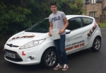 James passed with XLR8 Wales Driving School
