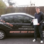 James Collier passed with XLR8 Wales Driving School