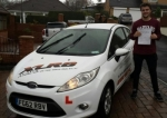 James Powell passed with XLR8 Wales Driving School