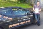 Jamie passed with XLR8 Wales Driving School