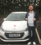 Jamie Scriven passed with XLR8 Wales Driving School