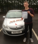 Jason Beyes passed with XLR8 Wales Driving School