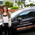 Jessica Axford passed with XLR8 Wales Driving School