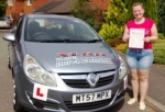 Jessica passed with XLR8 Wales Driving School