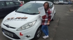Jessica Terry passed with XLR8 Wales Driving School