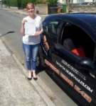 Joanne passed with XLR8 Wales Driving School