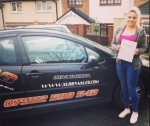 Jodie Fletcher passed with XLR8 Wales Driving School