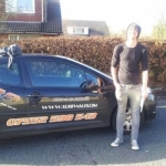 John Challenger passed with XLR8 Wales Driving School