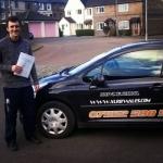 Josef Hirastelj passed with XLR8 Wales Driving School